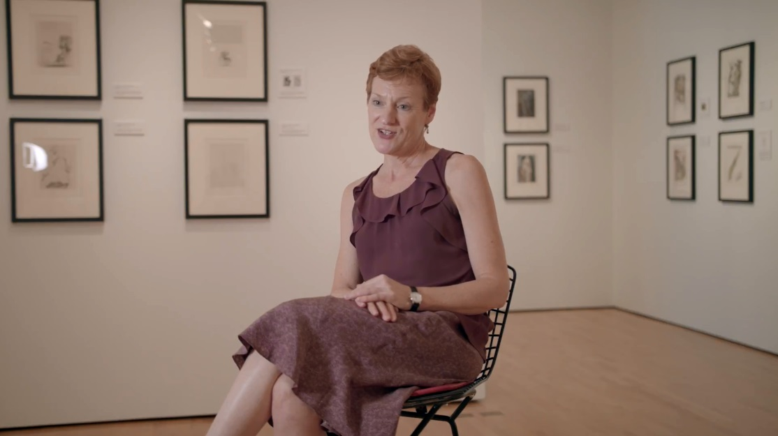 LouAnne Greenwald, director of the Hilliard Art Museum,