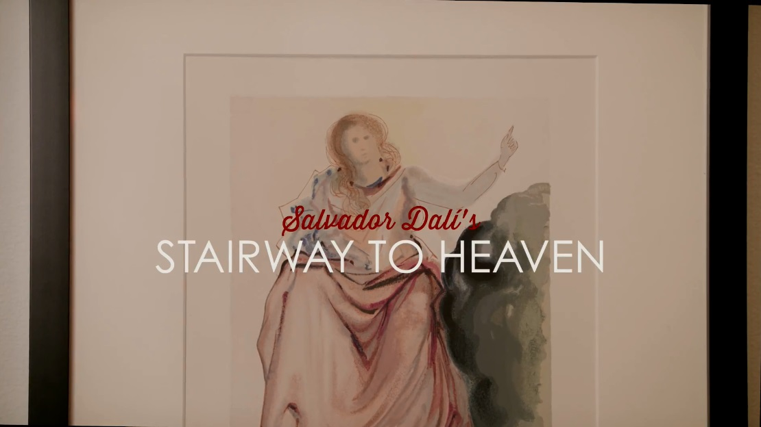 Salvador Dalí's Stairway to Heaven