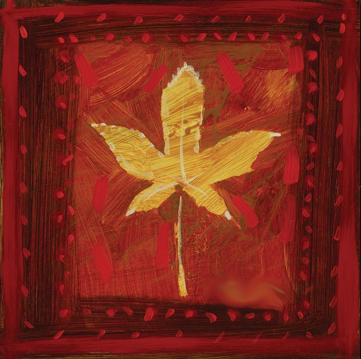 """""""Falling Leaves Series I - I"""" (2007), Simon Bull"""