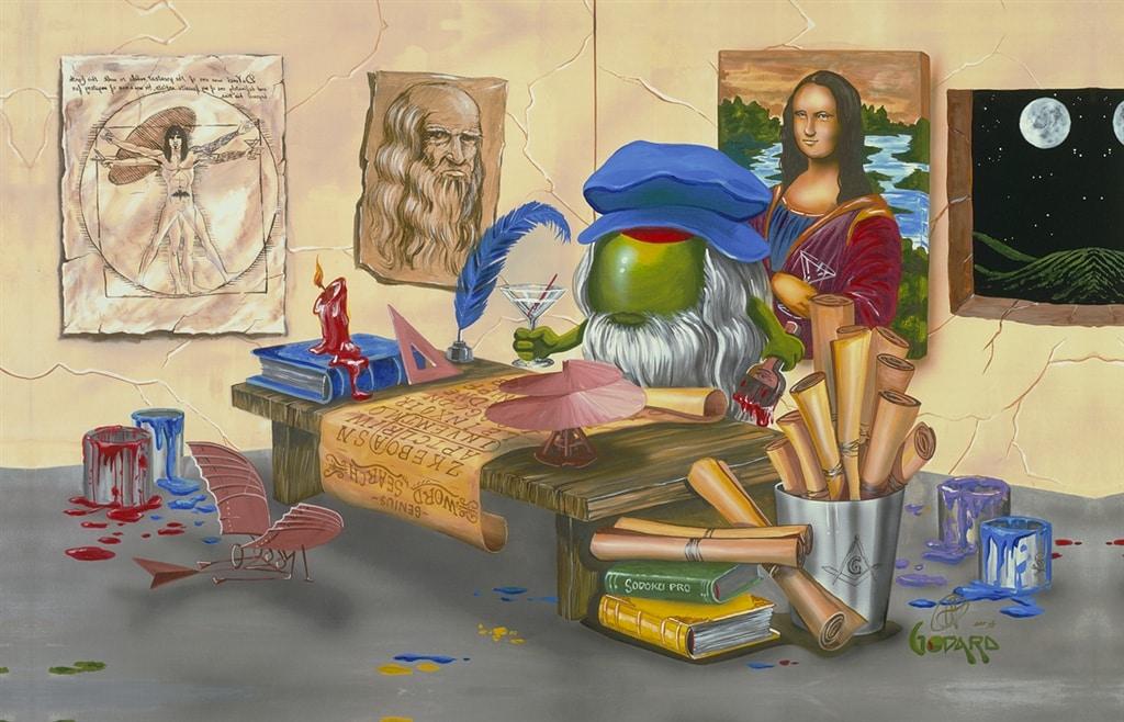 """""""Da Vinci's Window"""""""