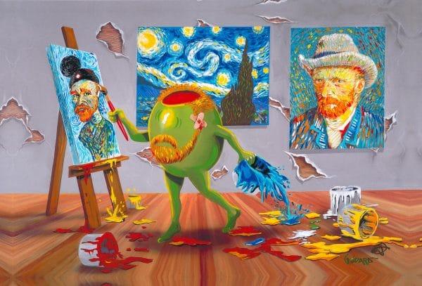 Artist Michael Godard Reveals The Secrets Behind 7 New Paintings