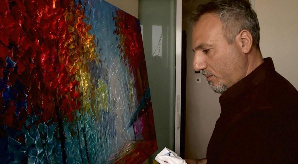 Artist Slava Ilyayev