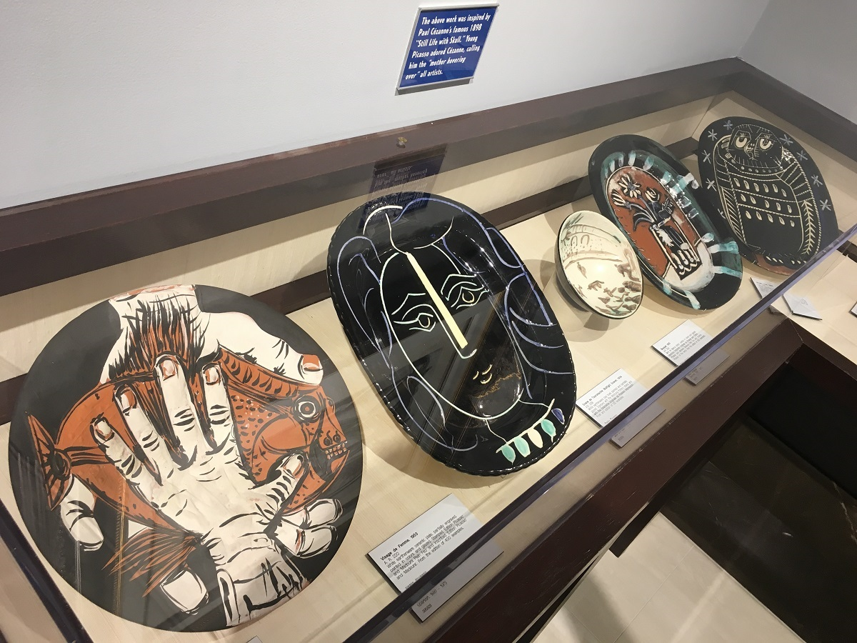 Selections from the Park West Picasso Ceramics Collection.