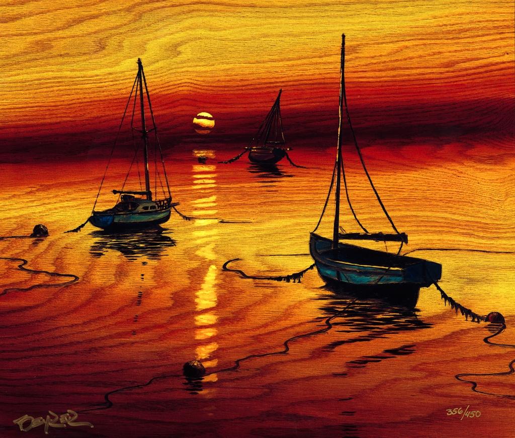 """Sail into the Horizon"" (2017), Matt Beyrer."