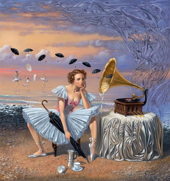 """Melody of Rain"" (2015), Michael Cheval"
