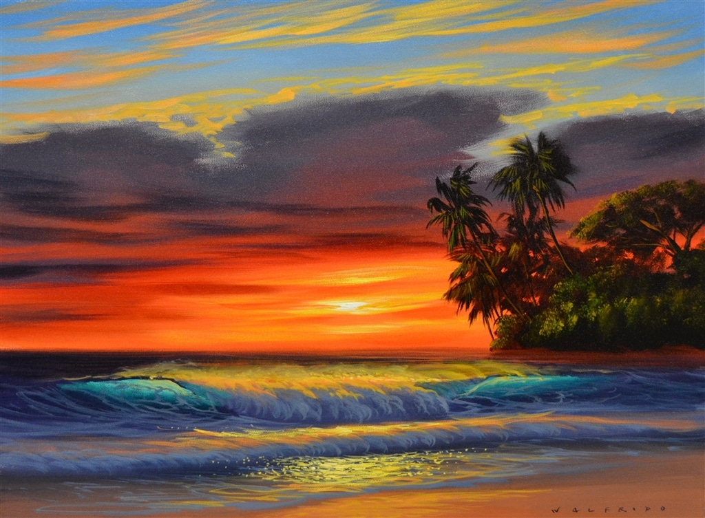 """""""Fire on the Shores,"""" Walfrido"""