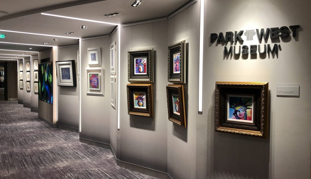 Celebrity Edge Park West Museum at Sea