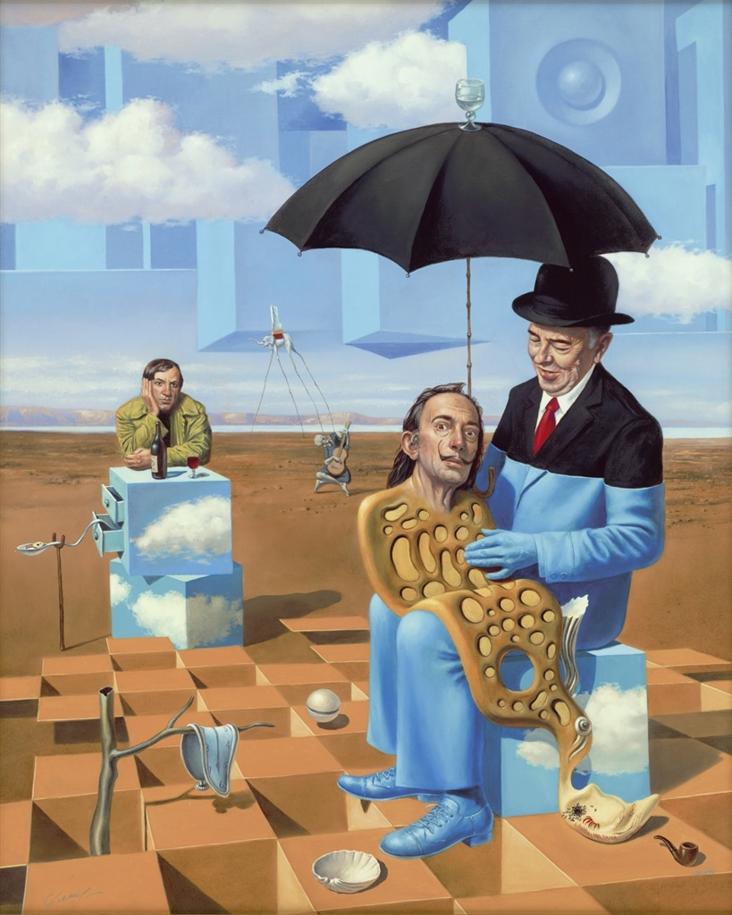 """""""Lullaby of Uncle Magritte,"""" Michael Cheval"""