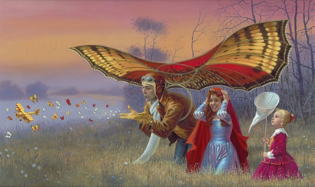 """""""Promises of the Parting Summer,"""" Michael Cheval"""