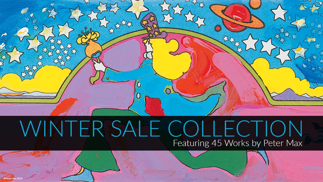 Peter Max Park West 2018 Winter Sale