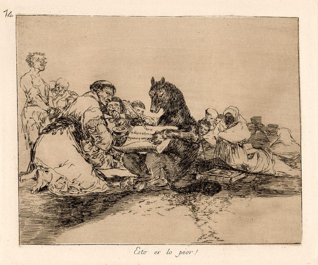 Francisco Goya Disasters of War Park West Gallery