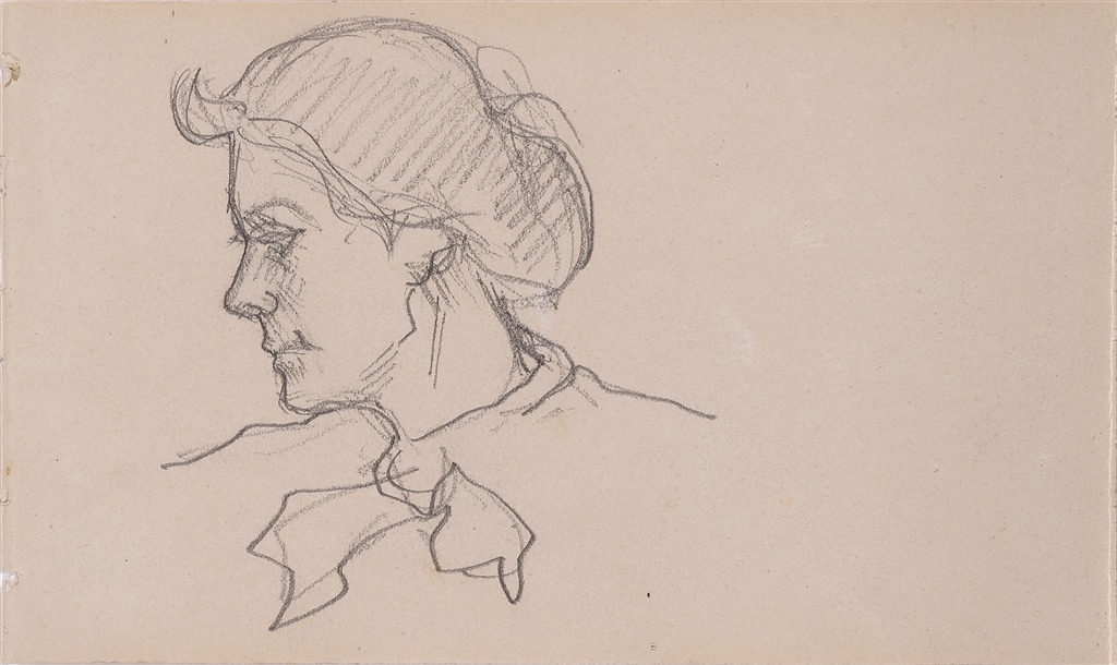 Untitled sketch, Henri de Toulouse-Lautrec, c. 1879-81