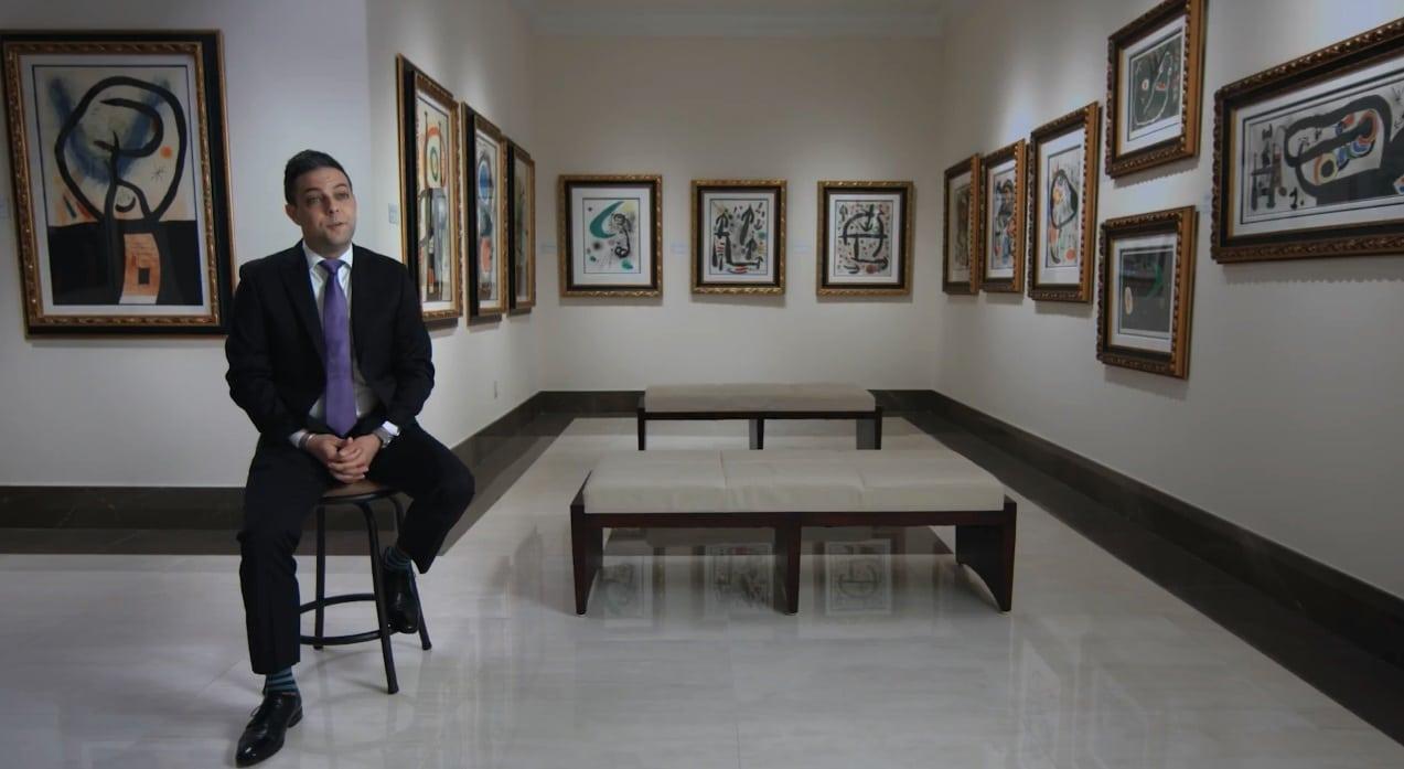 Park West Gallery Director David Gorman