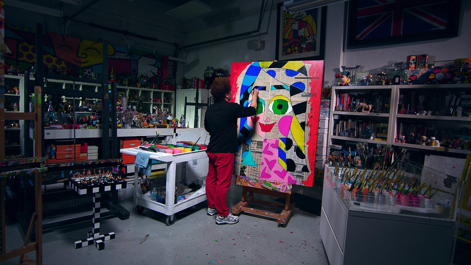 Britto, Park West Gallery artist