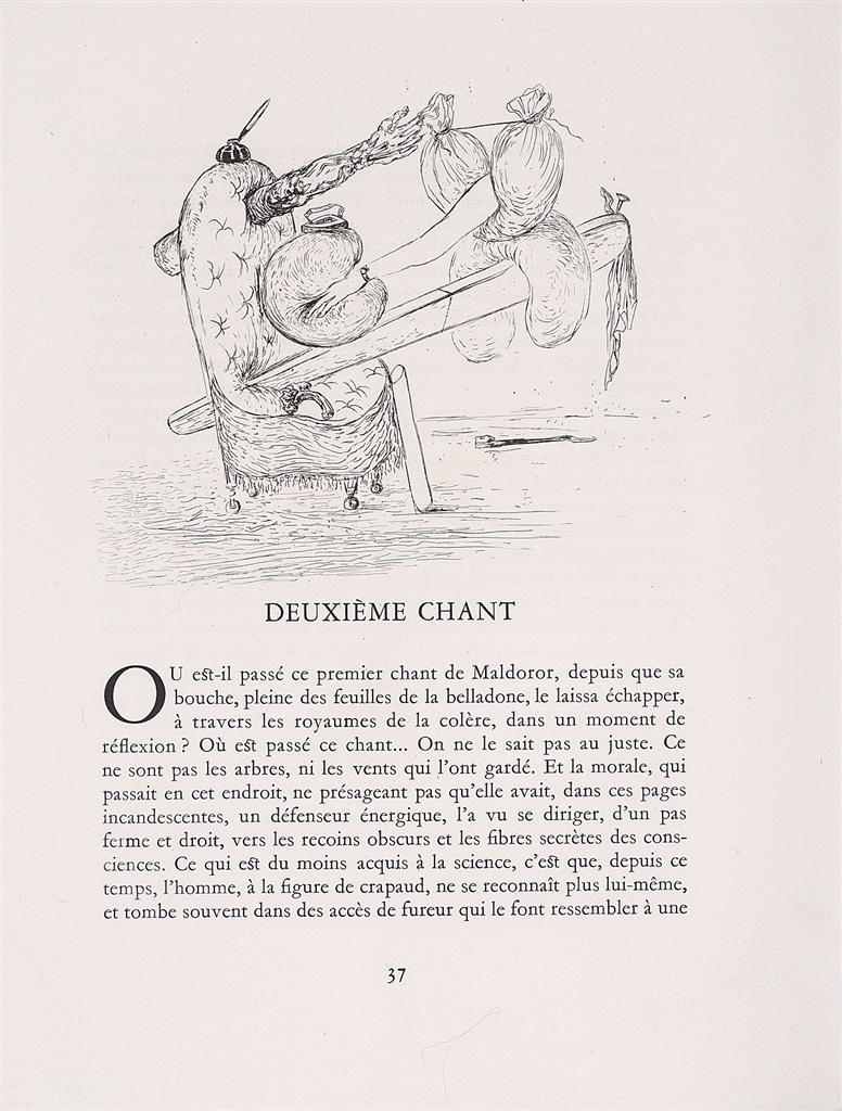 """""""Les Chants de Maldoror, Plate 8"""" (1934), Salvador Dalí"""