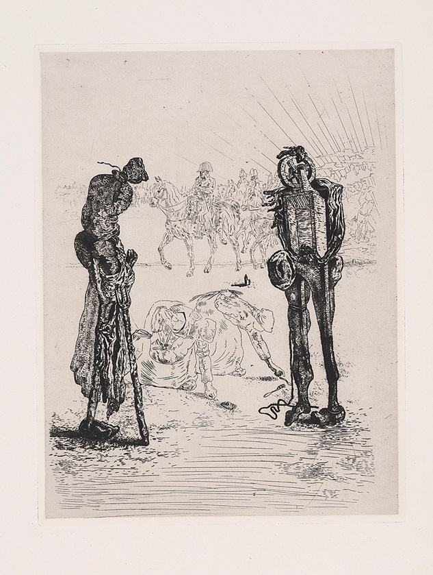 """""""Les Chants de Maldoror, Plate 22"""" (1934), Salvador Dalí"""