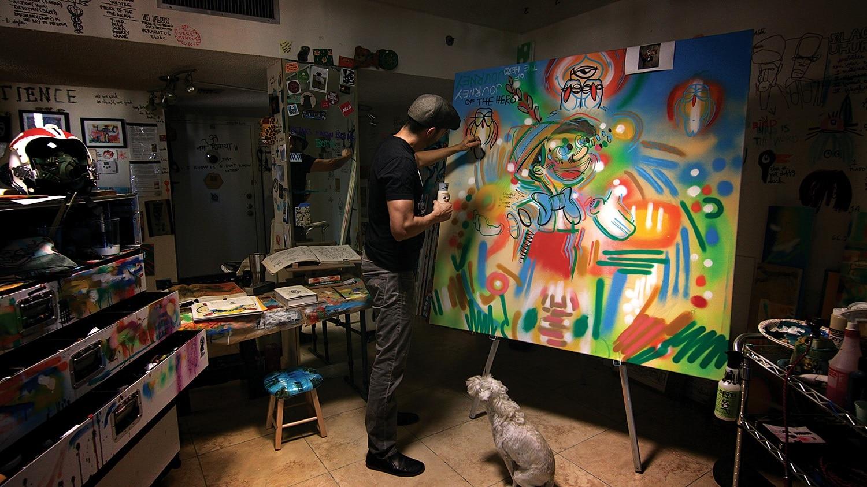 Lebo, Park West Gallery artist