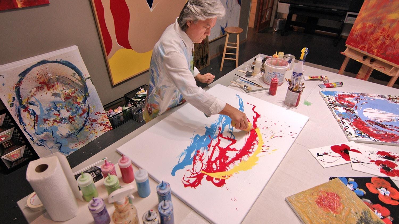 Dominic Pangborn, Park West Gallery artist