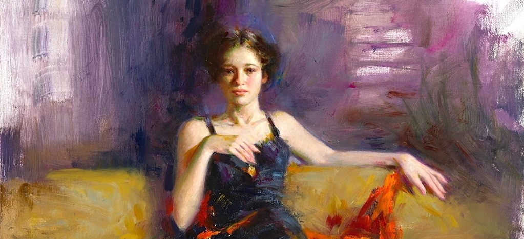 """Pino, """"Amelie,"""" Park West Gallery"""