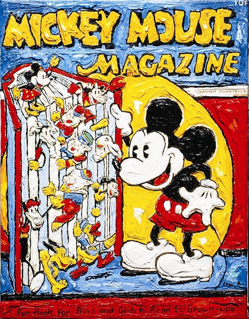 """Reading Mickey"" (2011), Leslie Lew"