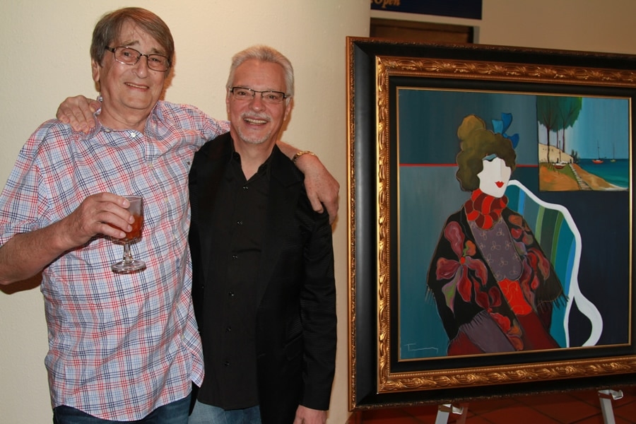 Itzchak Tarkay and Morris Shapiro