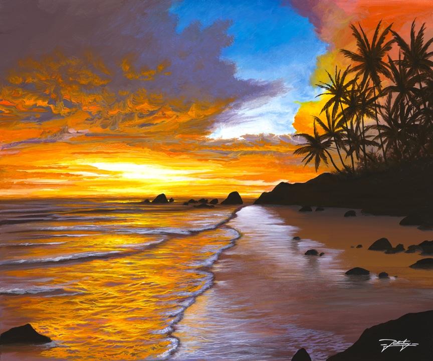 """""""Sunset Sea,"""" Jon Rattenbury"""