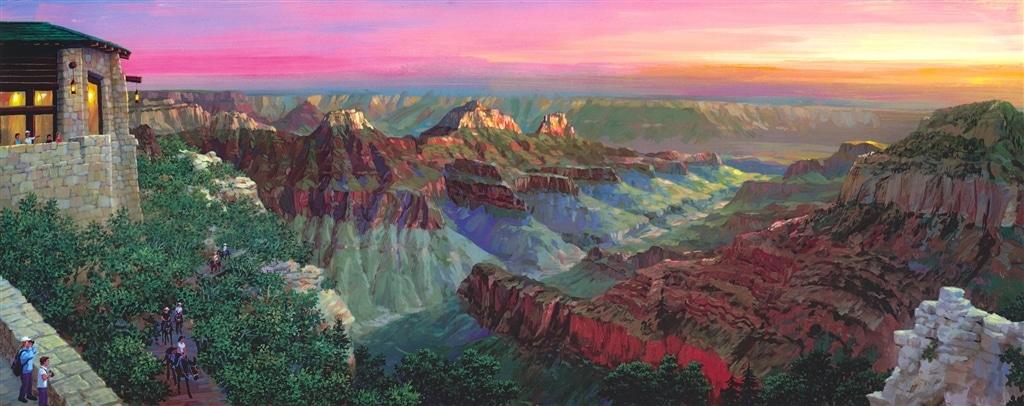 """Grand Canyon North Rim"" (2018), Alexander Chen"