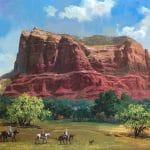 """Sedona - Big Red Rock"" (2018), Alexander Chen"