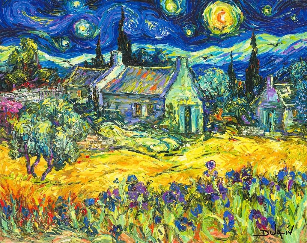 """""""Tribute to Van Gogh"""" (2018)"""