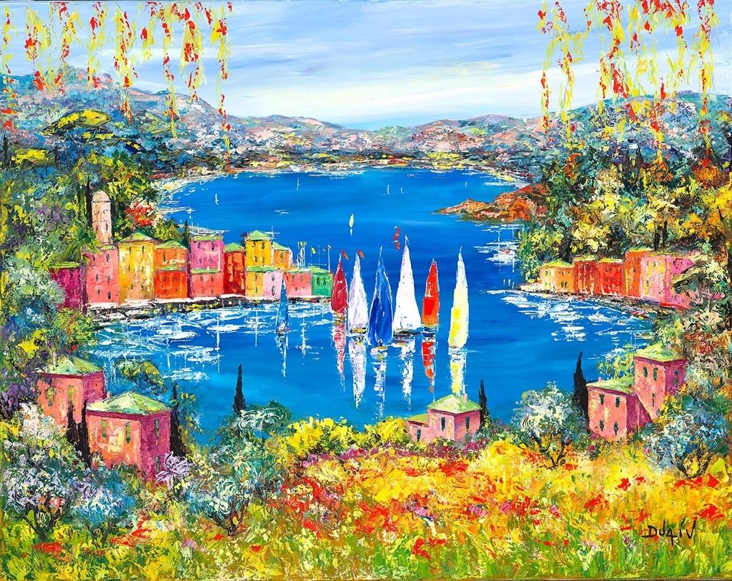 """Italy Dream Lake"" (2018), Duaiv"