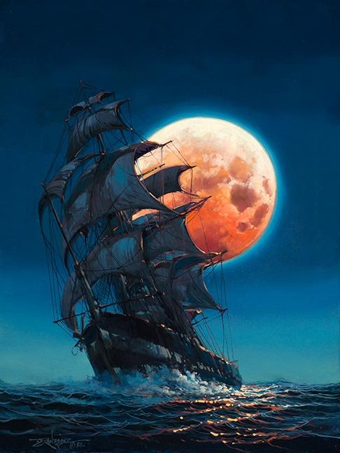 """""""Moonlit Pursuit,"""" Rodel Gonzalez"""