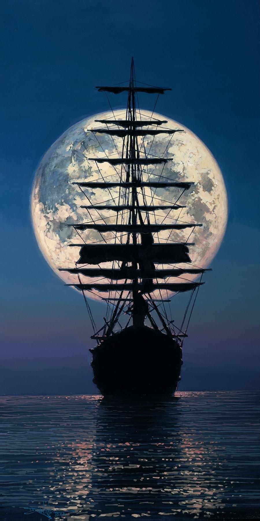 """Ship Moon,"" Rodel Gonzalez"