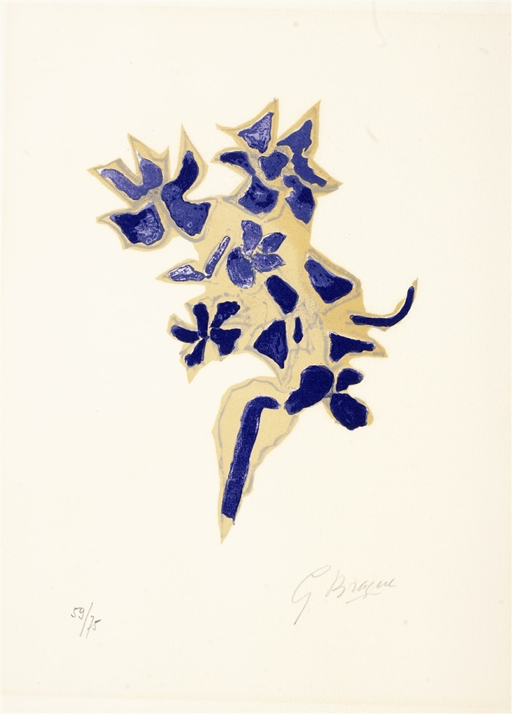 """""""Giroflee Bleue"""" (1963), Georges Braque, Cubism, What is Cubism"""