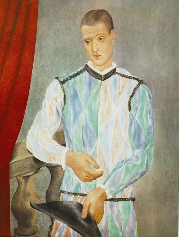 """""""The Harlequin"""" (1917), Pablo Picasso, Cubism, What is Cubism"""