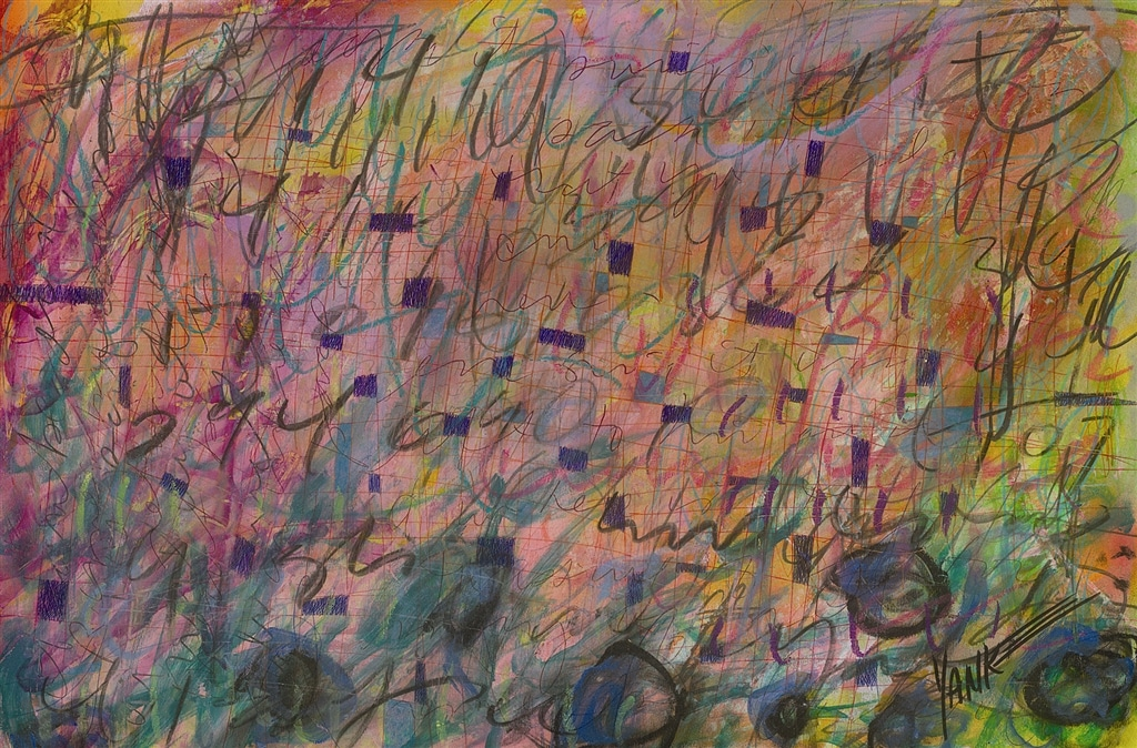"""""""Living Here"""" (2008), Tim Yanke, abstract, abstract art"""