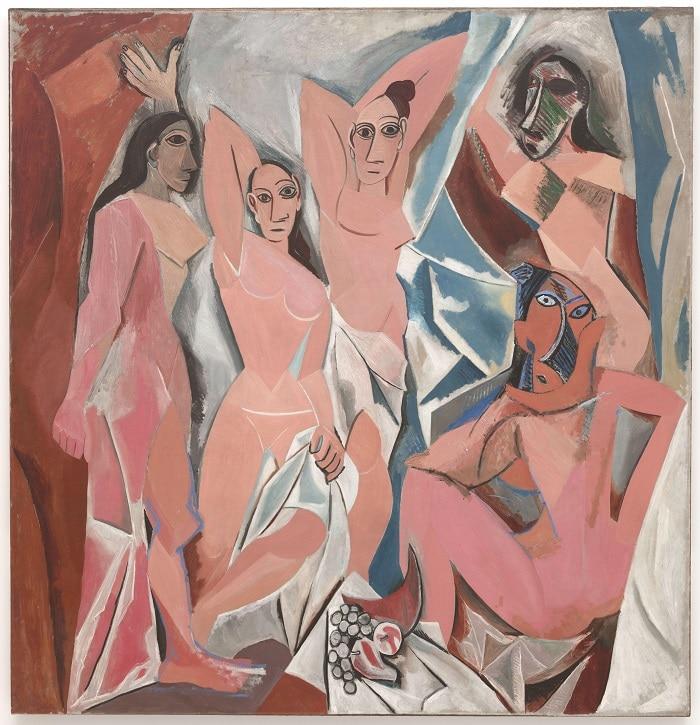 """""""Les Demoiselles d'Avignon"""" (1907), Pablo Picasso, Cubism, What is Cubism"""