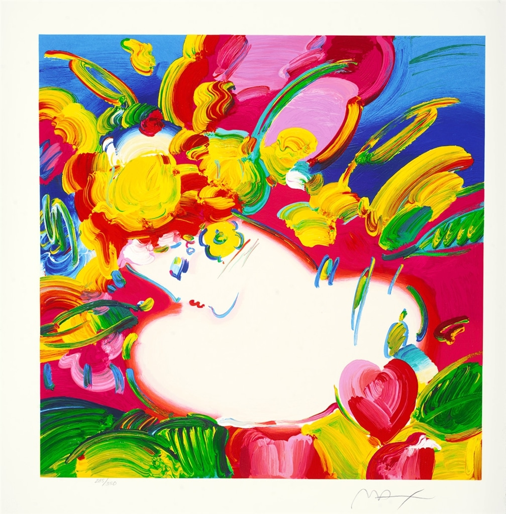 """""""Flower Blossom Lady"""" (2012), Peter Max"""