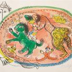 """Le Cercle Rouge"" (1966; M. 440), Marc Chagall"