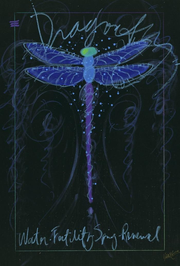 """Dragonfly Black (051114.69)"" (2014), Tim Yanke"