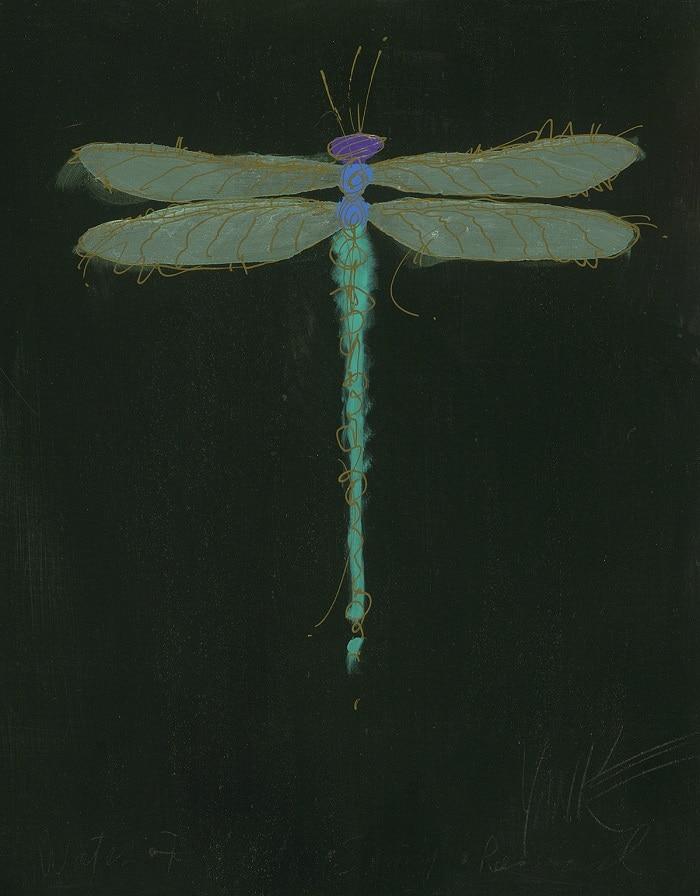 """Dragonfly Black,"" Tim Yanke"
