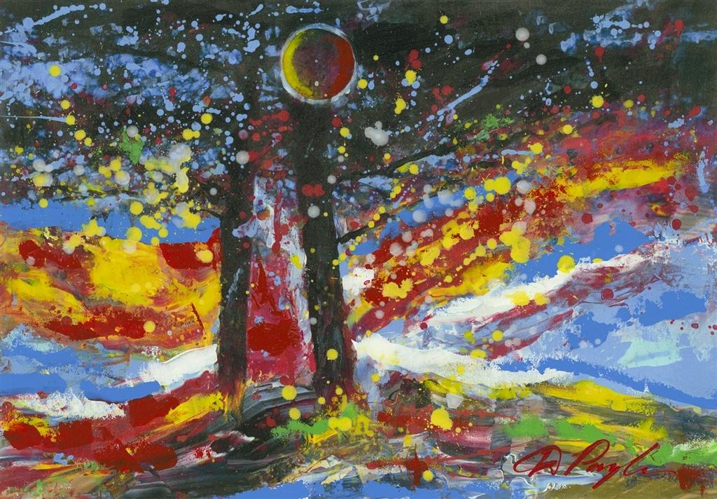 """Among the Trees,"" Dominic Pangborn"
