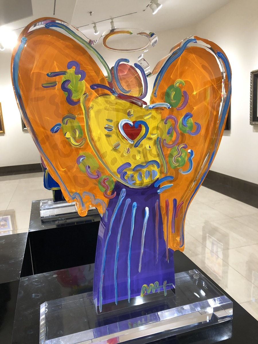 """""""Angel with Heart Ver. 1 #103,"""" Peter Max"""