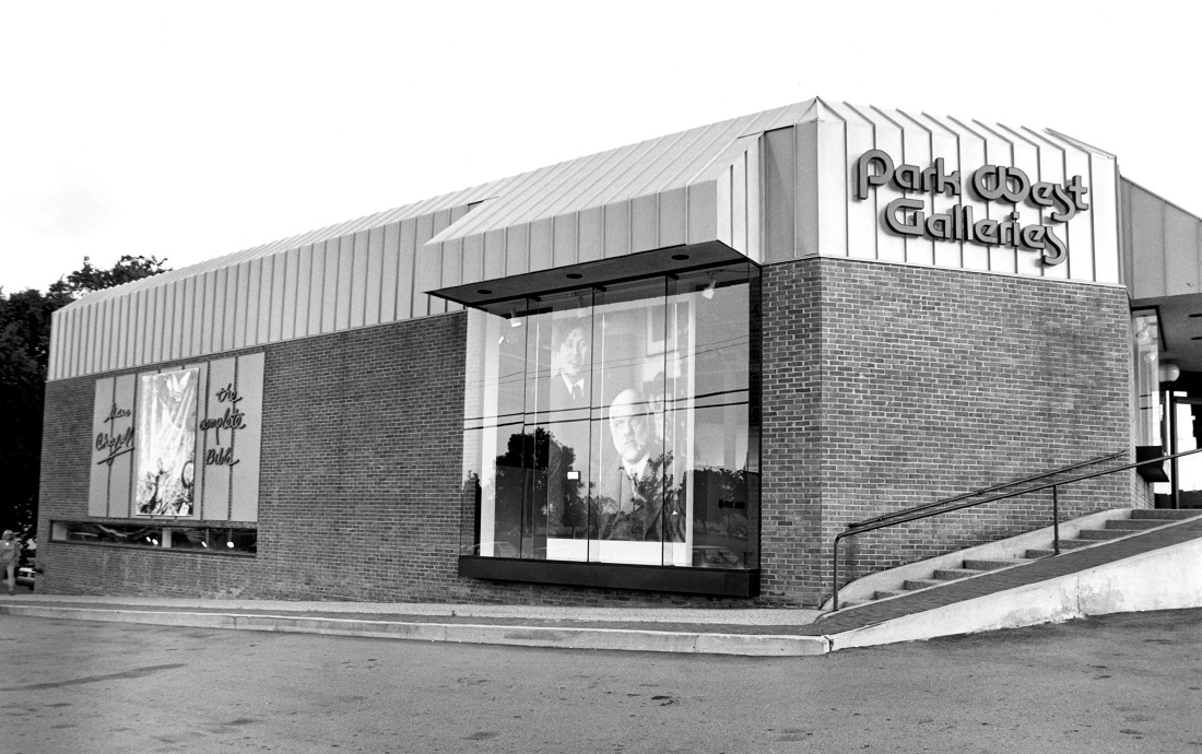 Park West's headquarters in 1980.