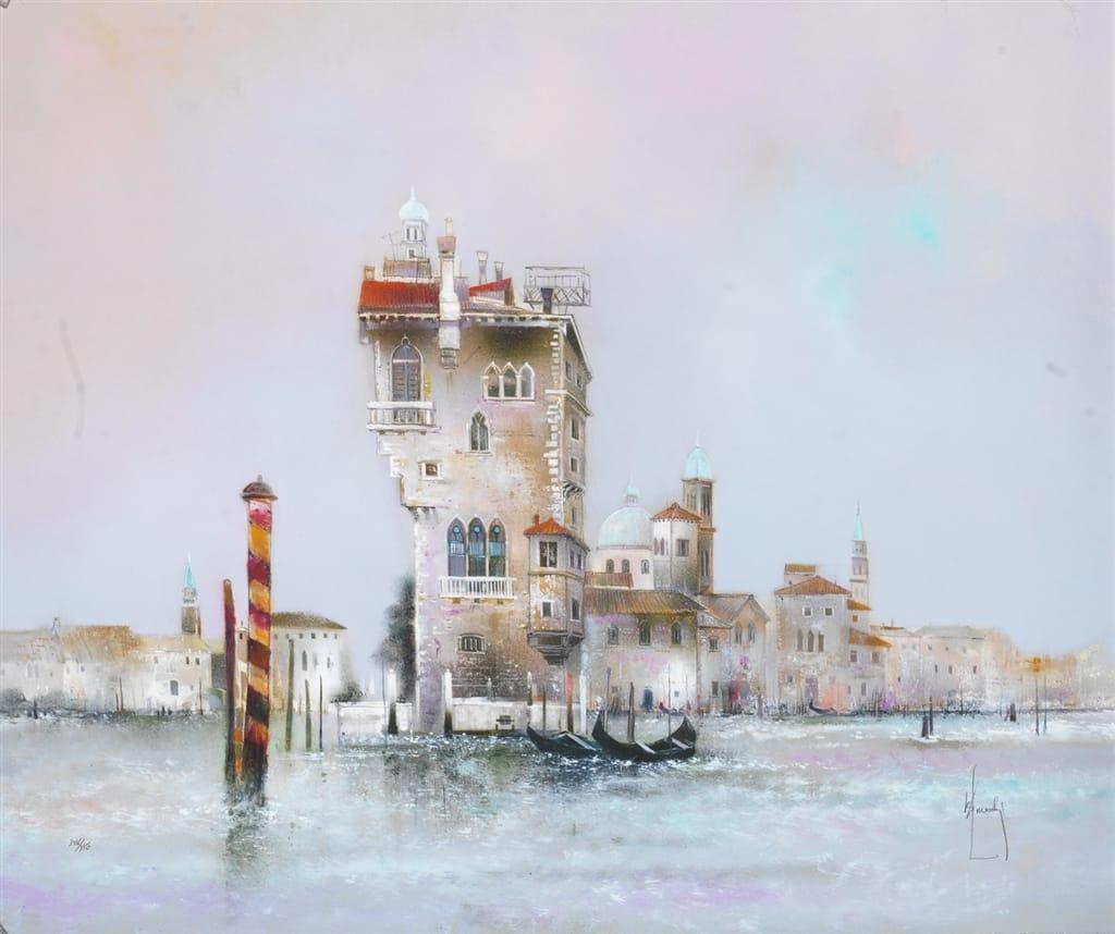 """""""Venise du Cote de Canareggio,"""" Bernard Louedin"""