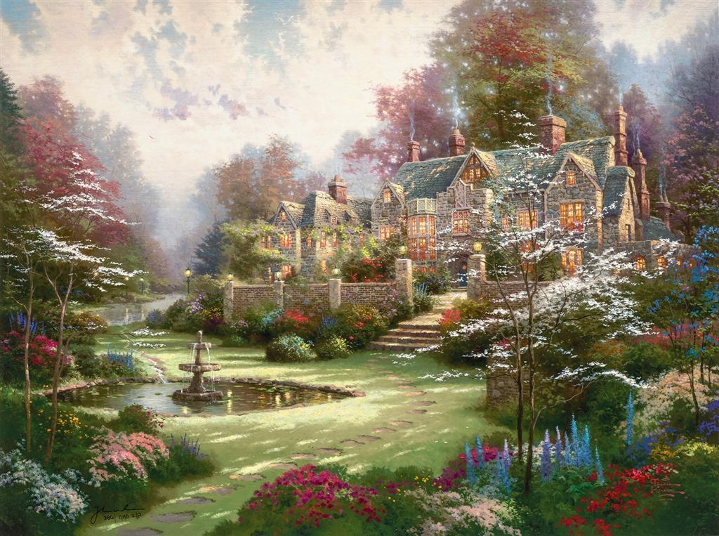 """Garden Beyond Spring Gate"""