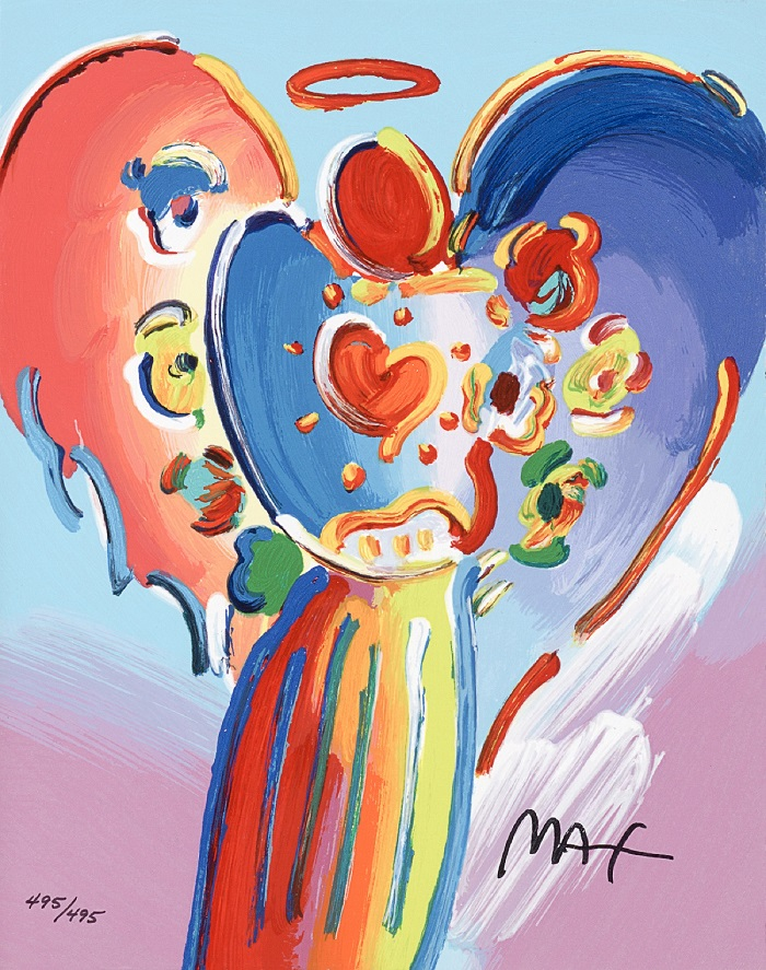 """""""Angel with Heart"""" – Peter Max"""