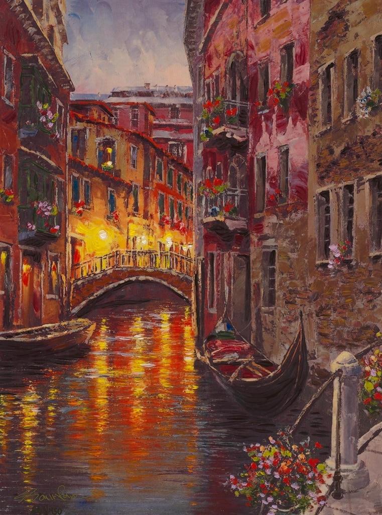 """""""Gondola Venice,"""" Sam Park"""