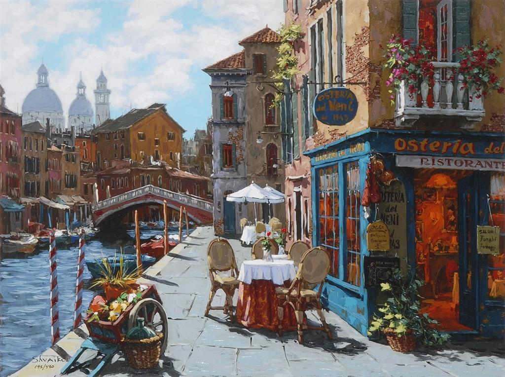 """Venice al Fresco,"" Viktor Shvaiko"