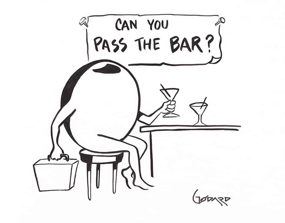 """Can You Pass the Bar?,"" Michael Godard"