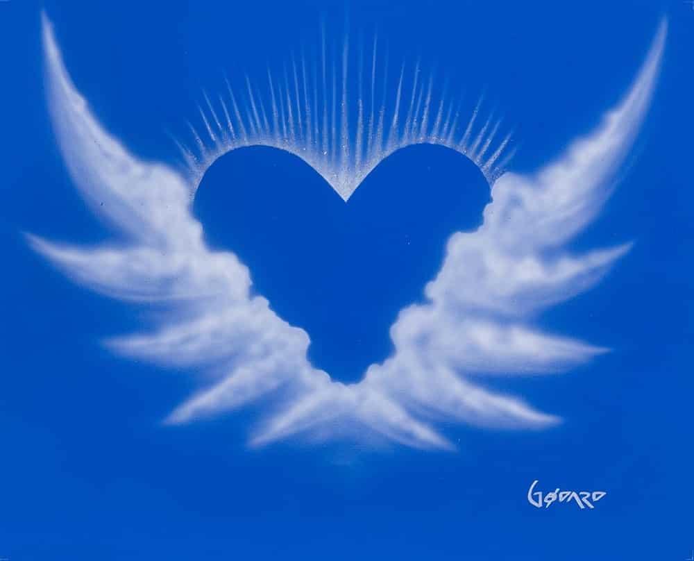 """""""Hearts of Hope (W),"""" Michael Godard"""